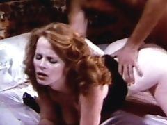 Redhead retro chick fucked rough