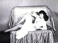 Betty page showing her stockings